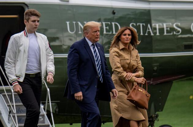 Trump ailesinin Beyaz Saray sonrası yeni adresleri belli oldu