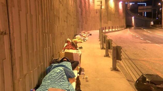 İstanbul'da evsizlerin en zor gecesi