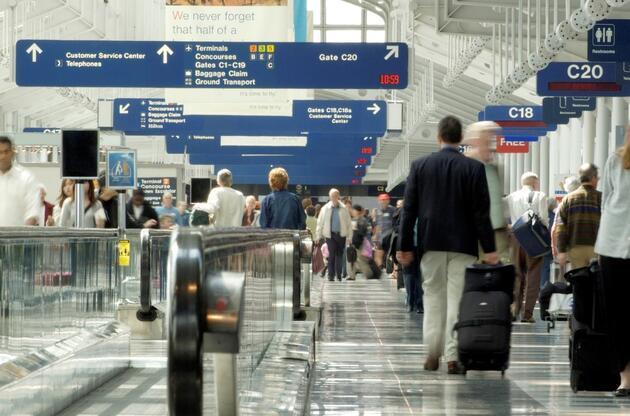 ABD'de bir kişi 'COVID-19 korkusundan' 3 ay havalimanında yaşadı