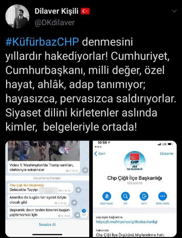 AK Parti'den CHP'lilerin Telegram yazışmalarına tepki