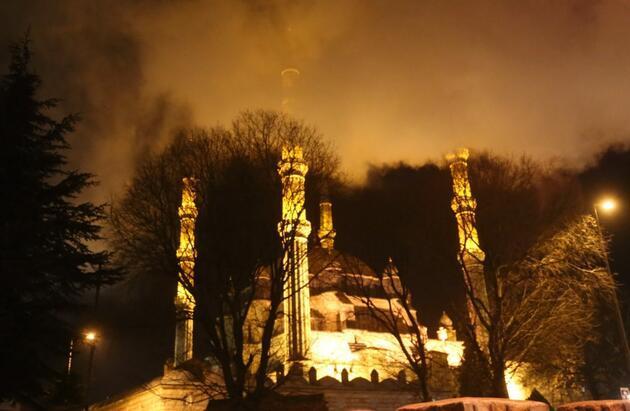 Edirne'de tarihi Müftülük binası yandı: Soruşturma başlatıldı