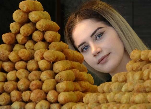 Osmanlı'dan günümüze... Padişahların tatlısı kadayıf dolması