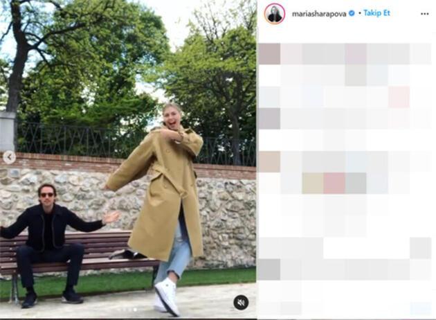 Maria Sharapova'nın nişan yüzüğü olay oldu