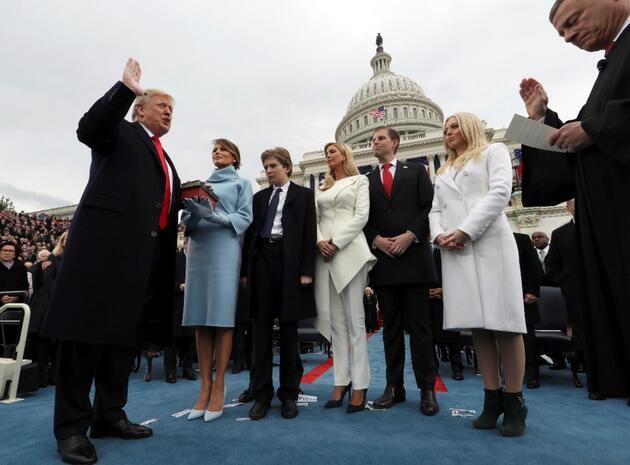 Beyaz Saray'a törenli veda: Trump kendisi için 'kırmızı halılı' veda töreni planlıyor