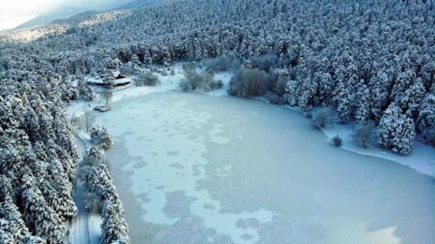 Bolu -32 dereceyle en soğuk il oldu