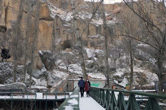 """Kar ayrı bir güzellik kattı! """"Gördüğümüz doğaya hayran kaldık"""""""