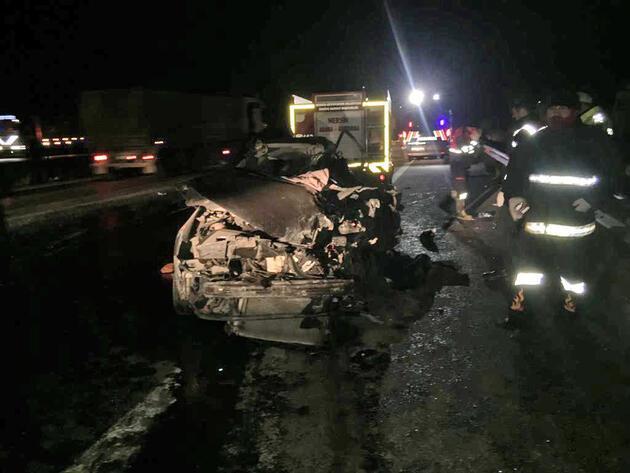 Son dakika haberi: Mersin'de korkunç kaza: 5 ölü, 2 yaralı
