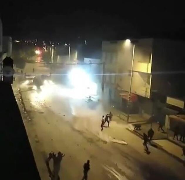 Tunus'taki protestolarda 600'den fazla gözaltı