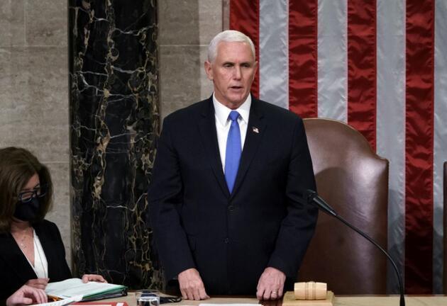 ABD Başkan Yardımcısı Pence'ten veda mesajı: Trump'a yer vermedi