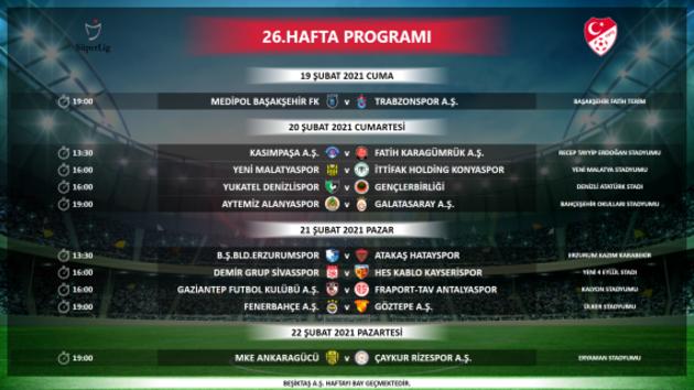 Son dakika... Süper Lig'de 8 haftalık program belli oldu! İşte derbi tarihleri