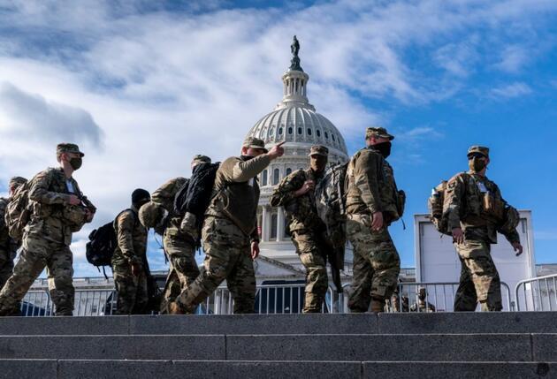 ABD'de tören öncesi alarm: Biden'ın yemin törenine katılacak 12 ulusal muhafız görevden alındı