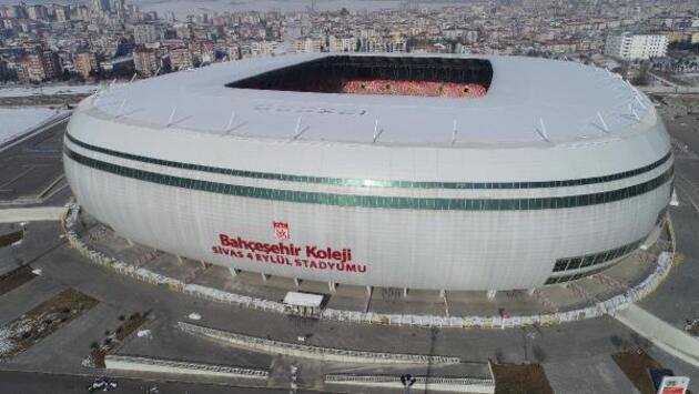 Son dakika... Sivas'ta Fenerbahçe maçı öncesi ilginç görüntü!