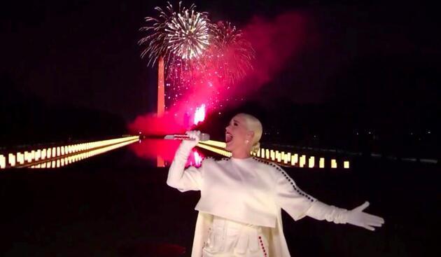 ABD Başkanı Joe Biden'ın töreninde yıldızlar geçidi!