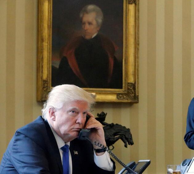 Biden'ın göreve gelmesi sonrası Oval Ofis'te dikkat çeken farklılıklar: O tabloyu değiştirdi