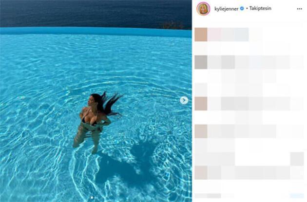 Kylie Jenner denizin ve güneşin keyfini çıkarıyor! 2021'in ilk lüks tatili