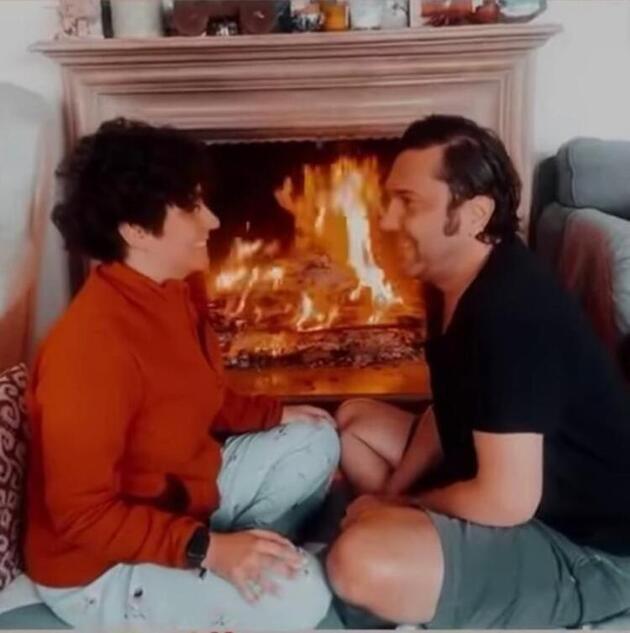 Halil Sezai'den romantik paylaşım: Sen hep gül