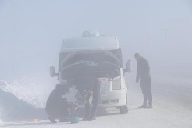 Türkiye'de en düşük sıcaklık Çaldıran'da; - 39,2