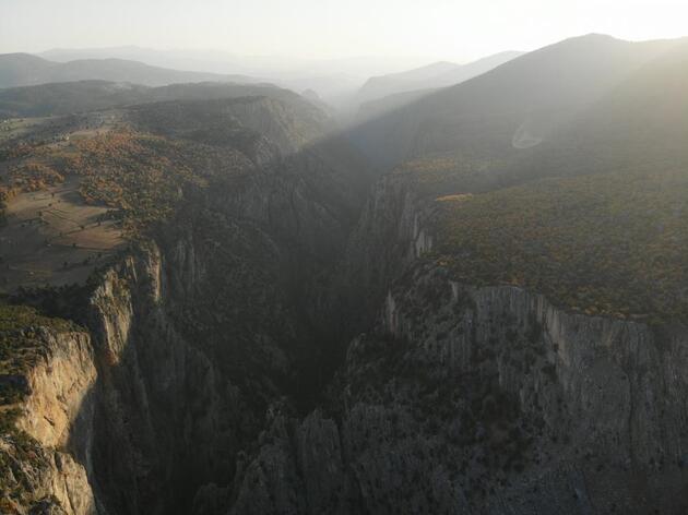 Hançer Kanyonu, doğa turizminin gözdesi olmaya aday