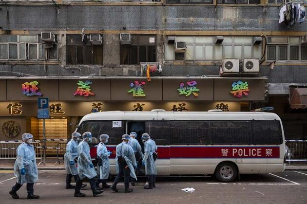 Hong Kong'da benzeri görülmemiş karantina!