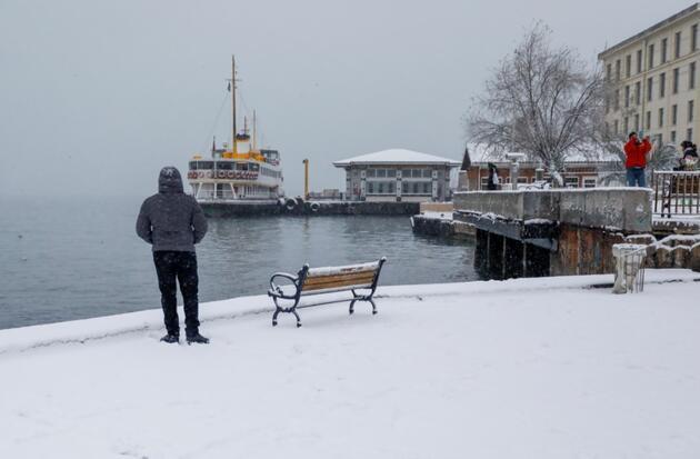 Dikkat! İstanbul'a çarşamba ve perşembe kar yağabilir