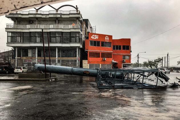 Yüzlerce ev yıkıldı! 'Eloise' felaketi