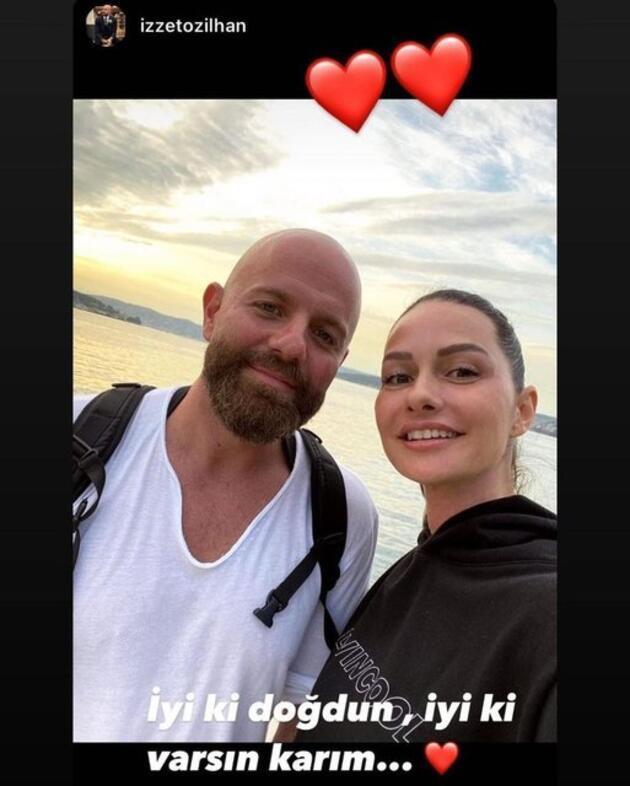 İzzet Özilhan'dan Yasemin Özilhan paylaşımı: İyi ki varsın karım