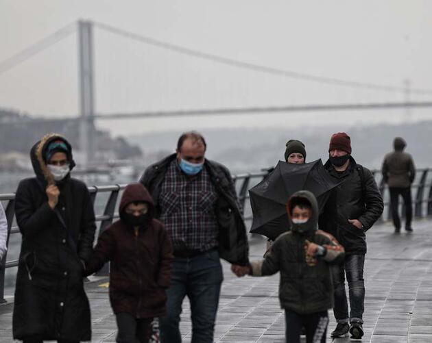 İstanbul'da fırtına etkisini artırıyor