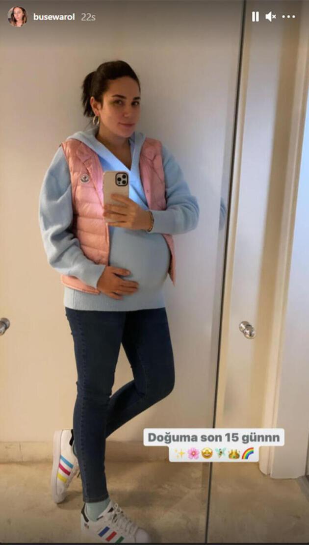 Buse Varol hamilelik sürecini anlattı
