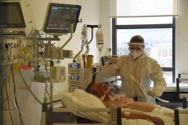 Vaka sayısı ile yoğun bakım doluluk oranı azaldı! Sağlıkçıların yüzü güldü