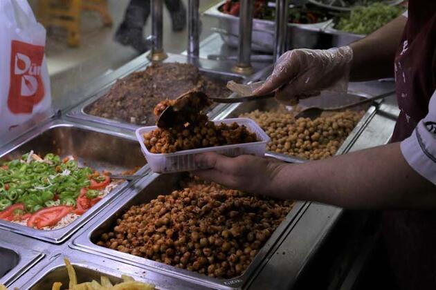 Gaziantep'te tescilli 'nohut dürümü' sevinci