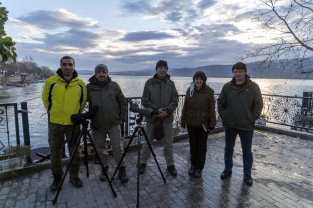 Drone destekli su kuşu sayımı tamamlandı