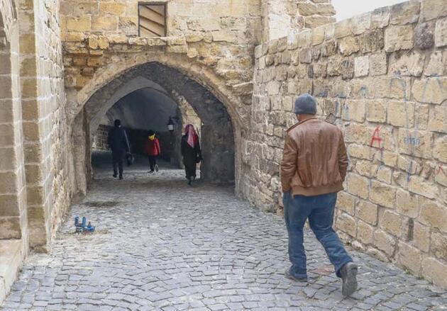 Antik kent Mardin'in gizemli yapıları; 'abbara'lar