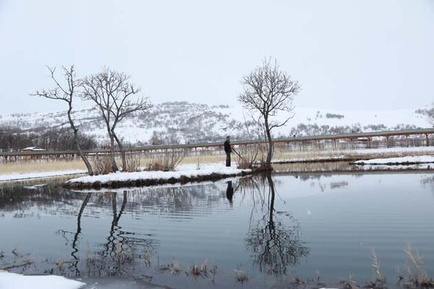 'Kışın herkesin burayı görmesi lazım!' Bingöl'ün 'yüzen adaları' fotoğrafçıların uğrak yeri oldu