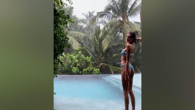 Şevval Şahin'in bitmeyen Bali tatili! Pozları sosyal medyayı salladı