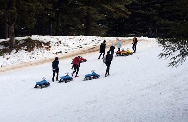 Türkiye'nin oksijeni bol en güzel yerlerinden biri! Kış tatilinin vazgeçilmezi oldu