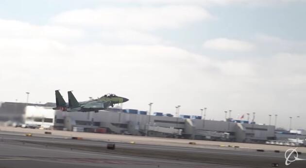Boeing'in F-15EX savaş uçağı ilk test uçuşunu yaptı