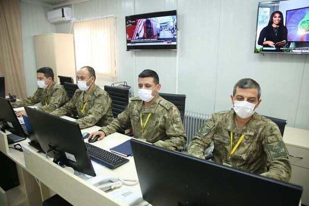 Dağlık Karabağ'da Türk-Rus Ortak Gözlem Merkezi faaliyetini sürdürüyor