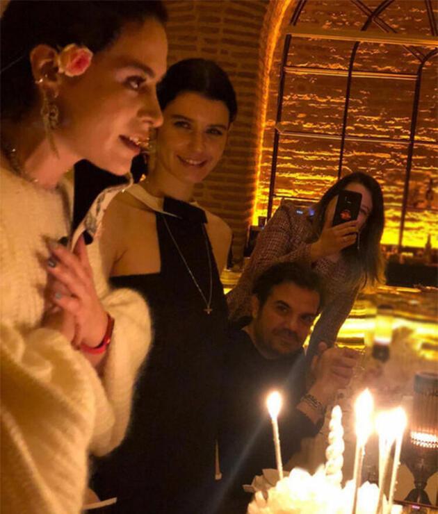 Beren Saat, Serpil Doğulu'nun doğum gününü kutladı