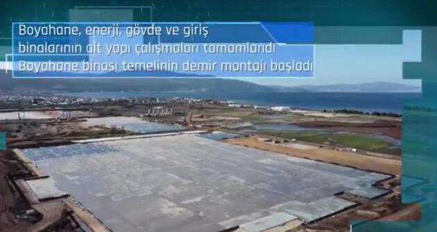 TOGG'dan duyuru: 'Gemlik Tesisi'nin inşaatı hız kesmeden devam ediyor'