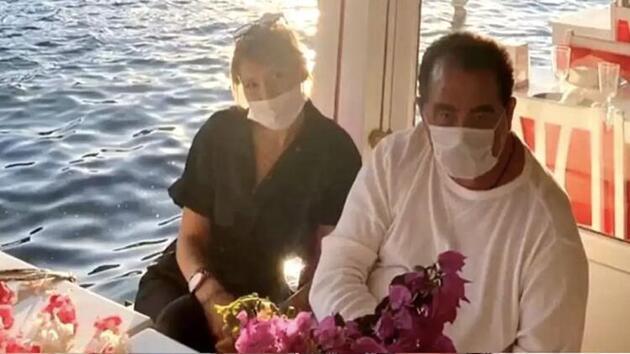 İbrahim Tatlıses ve 43 yaş küçük sevgilisi Gülçin Karakaya'dan yeni poz