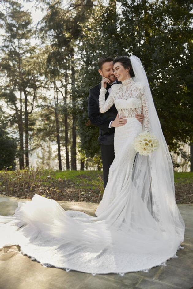 Sinan Akçıl ile Burcu Kıratlı 2. kez evlendi! Burcu Kıratlı hamile mi?