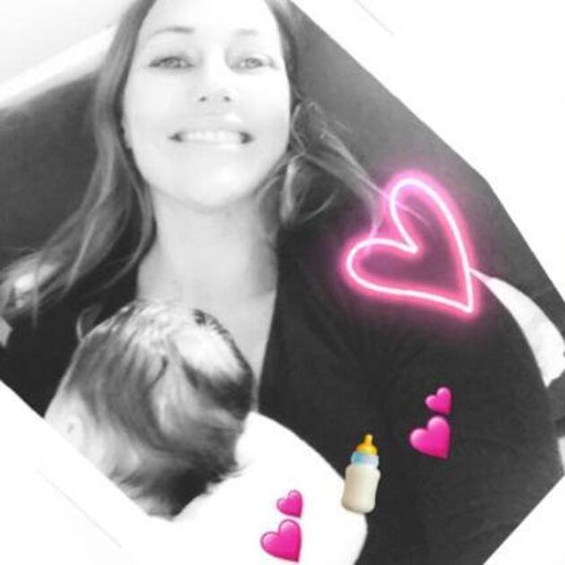 Meryem Uzerli ve kızından yeni fotoğraf geldi