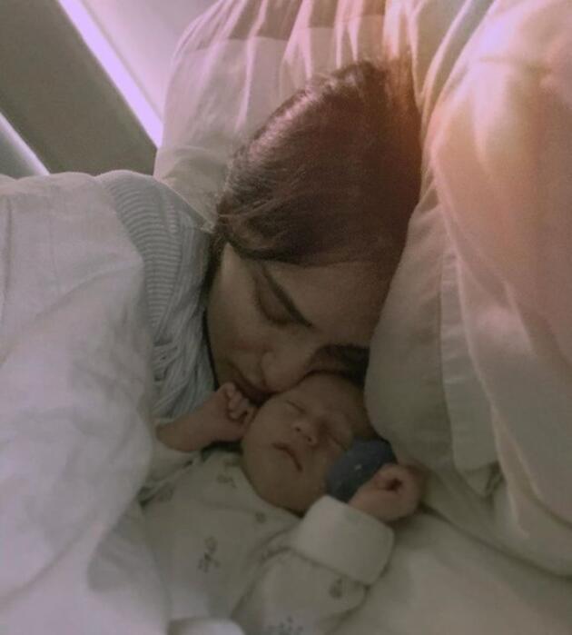Saadet Işıl Aksoy'un kızı Marisa Gürcan Kıraner 1 yaşında