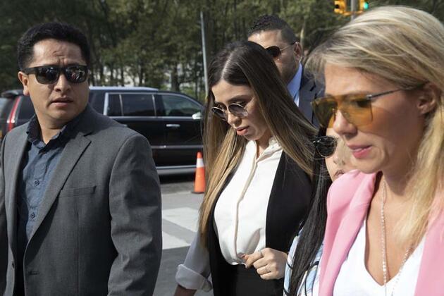 El Chapo'nun eşi hakkında karar verildi
