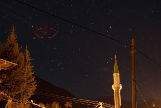 Amatör fotoğrafçı Antalya'da çekti: Kareleri Türkiye Uzay Ajansı ve NASA'ya gönderdi