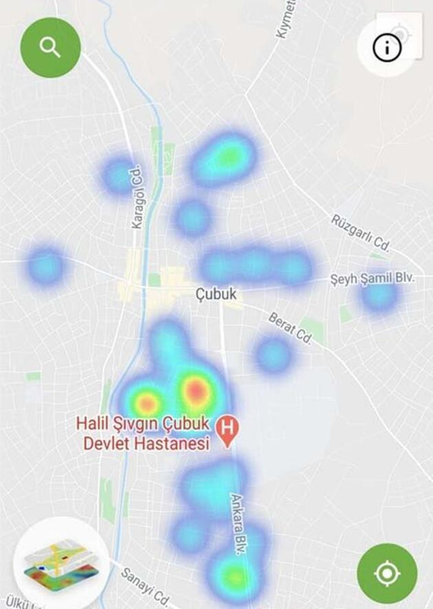 Bu ilçelerde yaşayanlar dikkat! İştekoronavirüsharitasına göre 3 büyükşehirde son durum