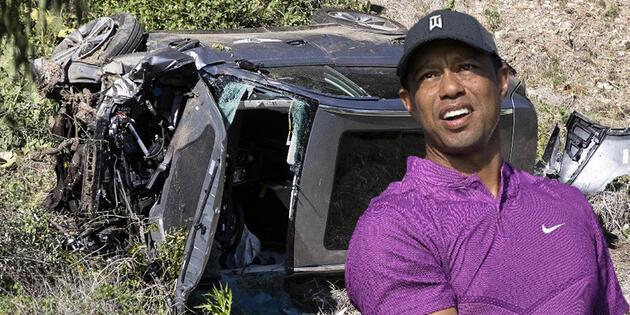 Kaza geçiren Tiger Woods'un kariyeri sona erdi