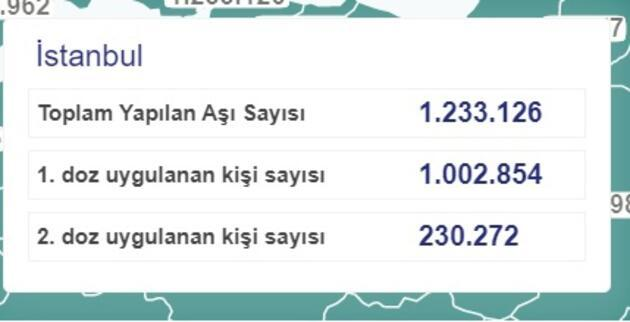 Son dakika! Türkiye'de kaç kişiye koronavirüs aşısı yapıldı? İl il son rakamlar belli oldu