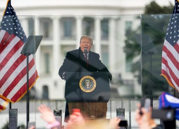 Donald Trump'tan geri dönüş için ilk adım: Bizzat başvurdu