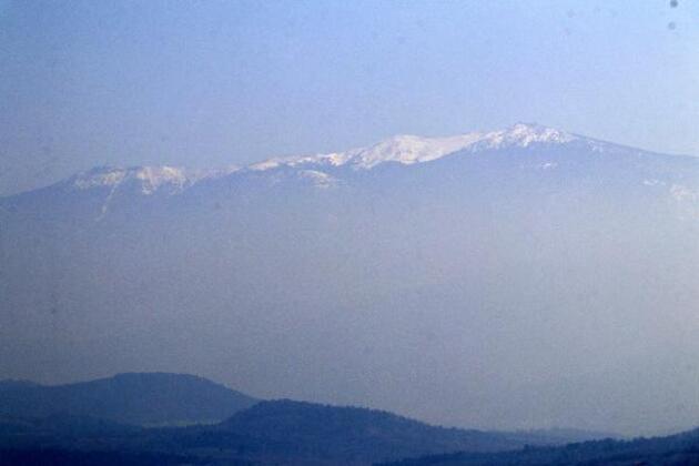 'Bin Pınarlı' Kaz Dağları, Bayramiç Barajı'nı doldurdu